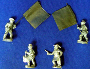 Confederate Infantry Command Set