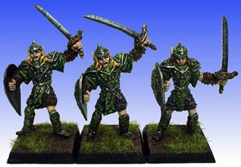 Durnanoth Elves with Sword & Shield