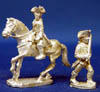 General Wolfe on Horseback & Colonel Washington (foot)