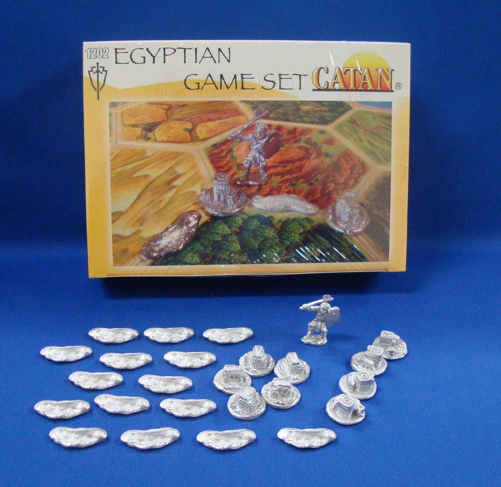 My Catan Eygption game set