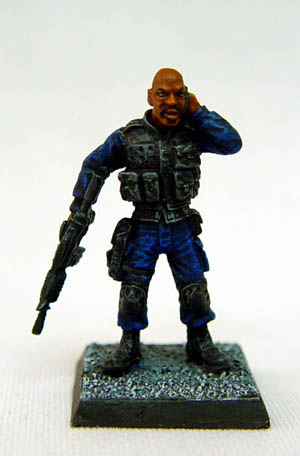 The Man S.W.A.T team Leader