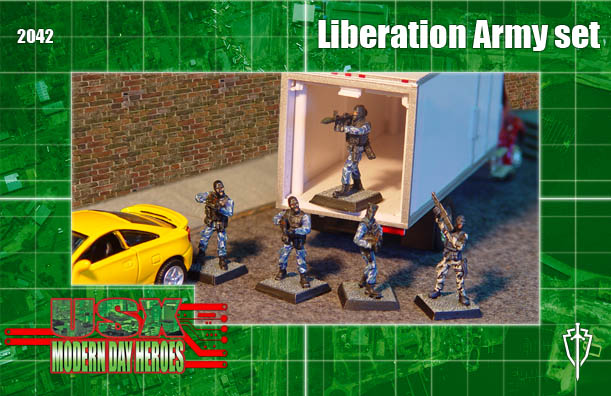 Liberation Army unit box
