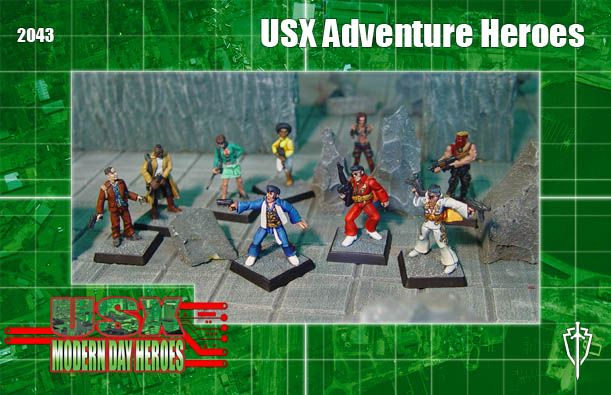 USX Adventure Heroes unit box