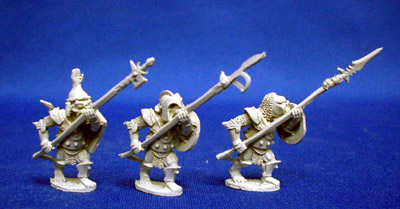 Orc Warband with pole arms