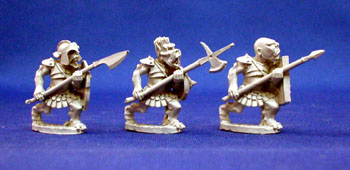 Orc Warband with 2 handed weapons