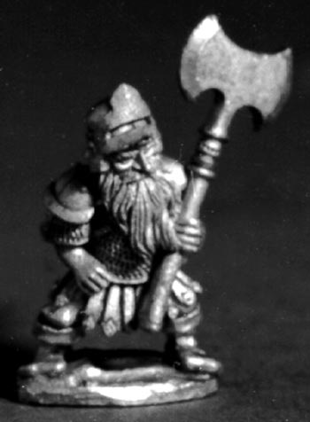 Dwarf Fighter with axe