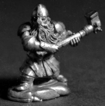 Dwarf Fighter with hammer