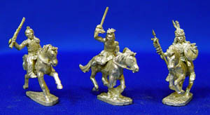 Mounted Indians w/Separate Weapons