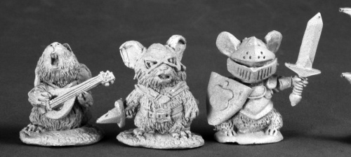 Mouslings: Bard Thief Knight