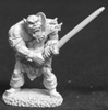 Black Orc with 2 handed sword