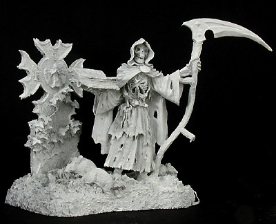 Grim Reaper and Tombstone (72mm)