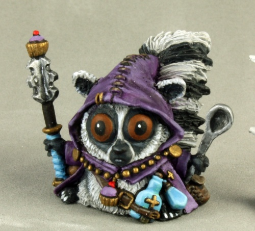 Frumitty, Lemur Cleric