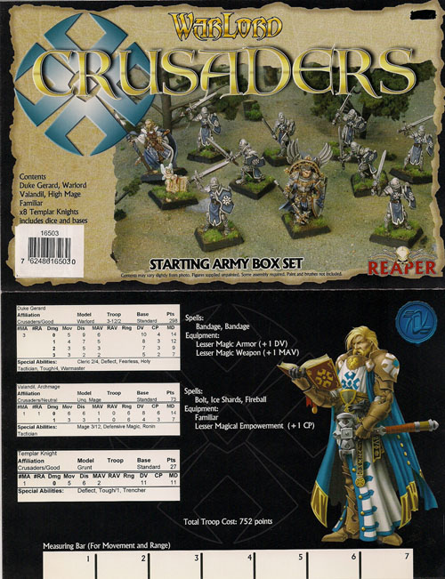 Warlord: Crusaders Denelspire Starter Box Set