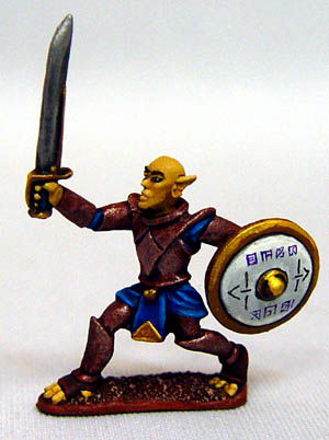 Canal Martian NCO with Sword
