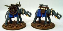 Elephant Gatling Train