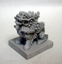 Qi Lin - Chinese lion with base